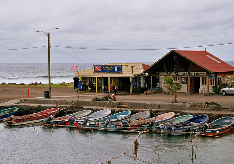 Дайв-центр Orca на острове Пасхи
